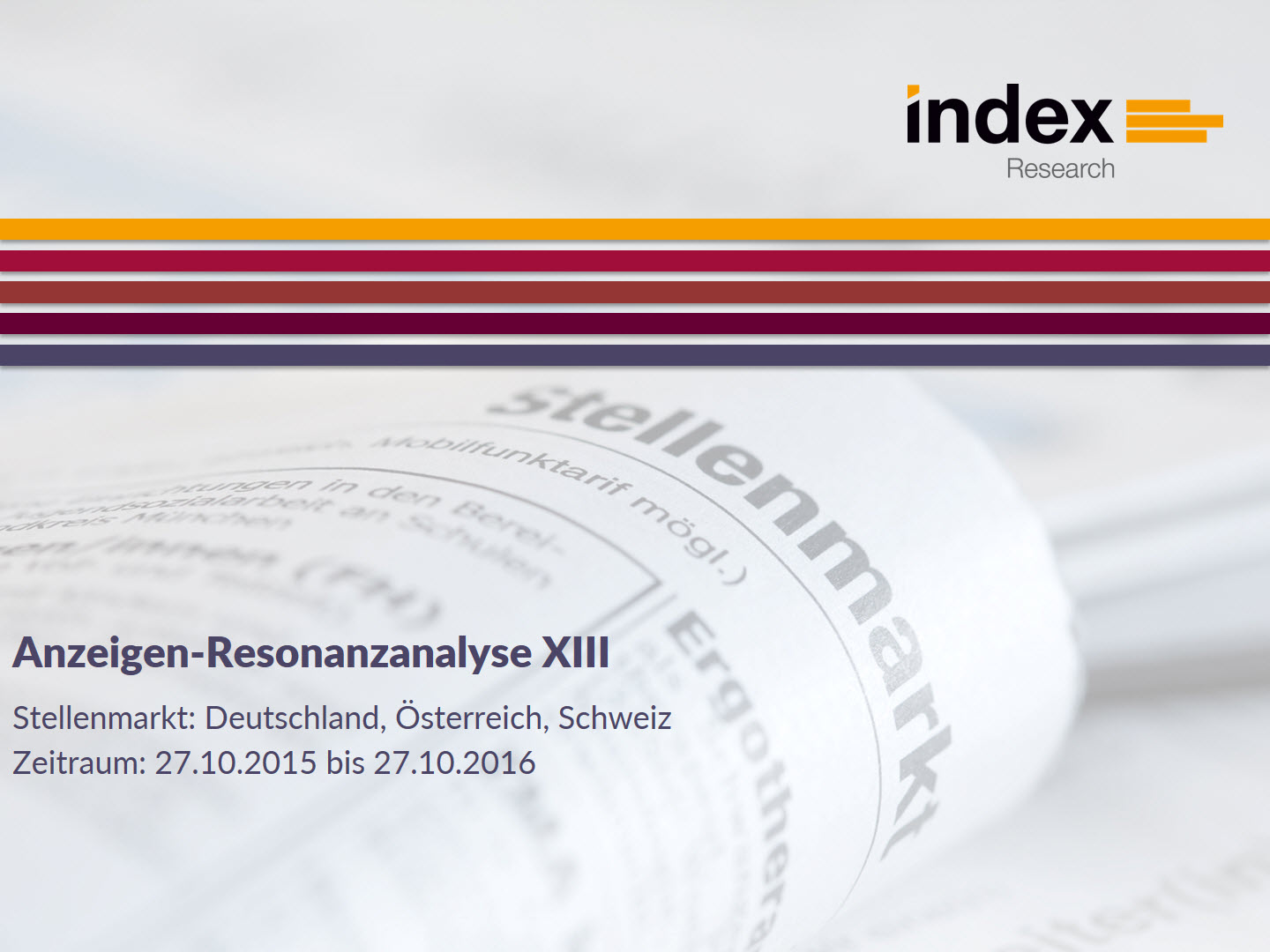 index-Anzeigen-Resonanzanalyse