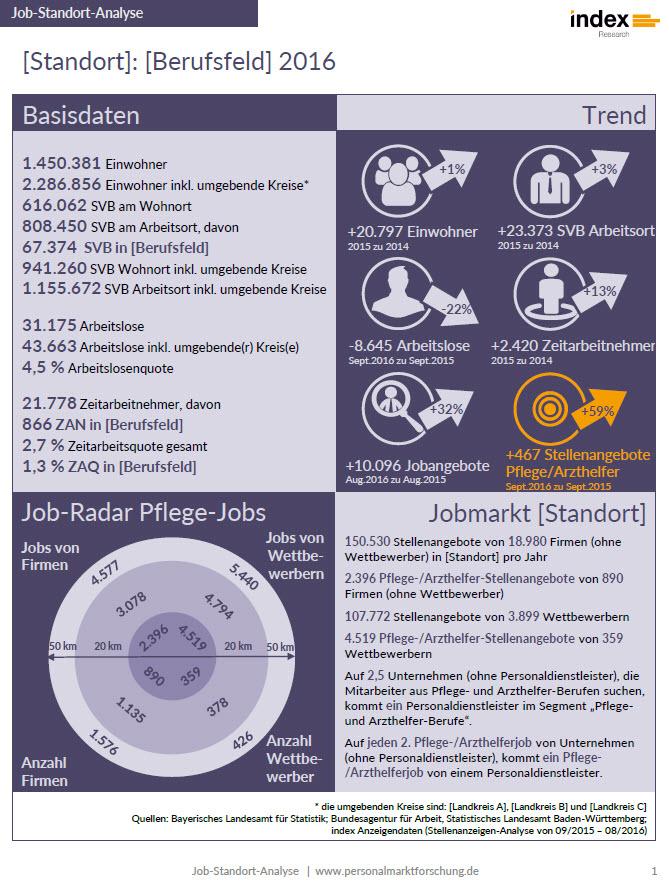 Jobmarkt-Standort-Analyse Seite 1