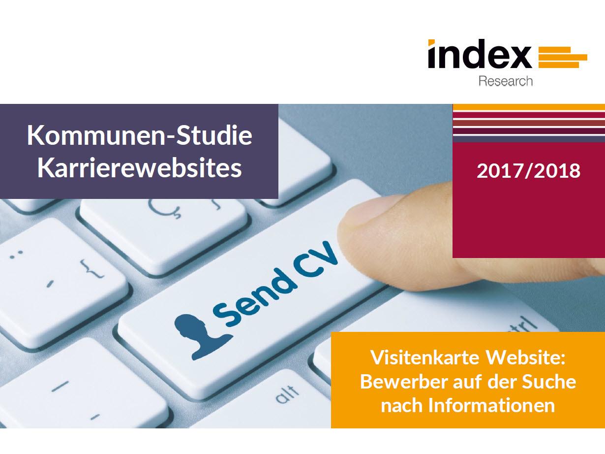 Studie zu Karriere-Webseiten von Kommunen