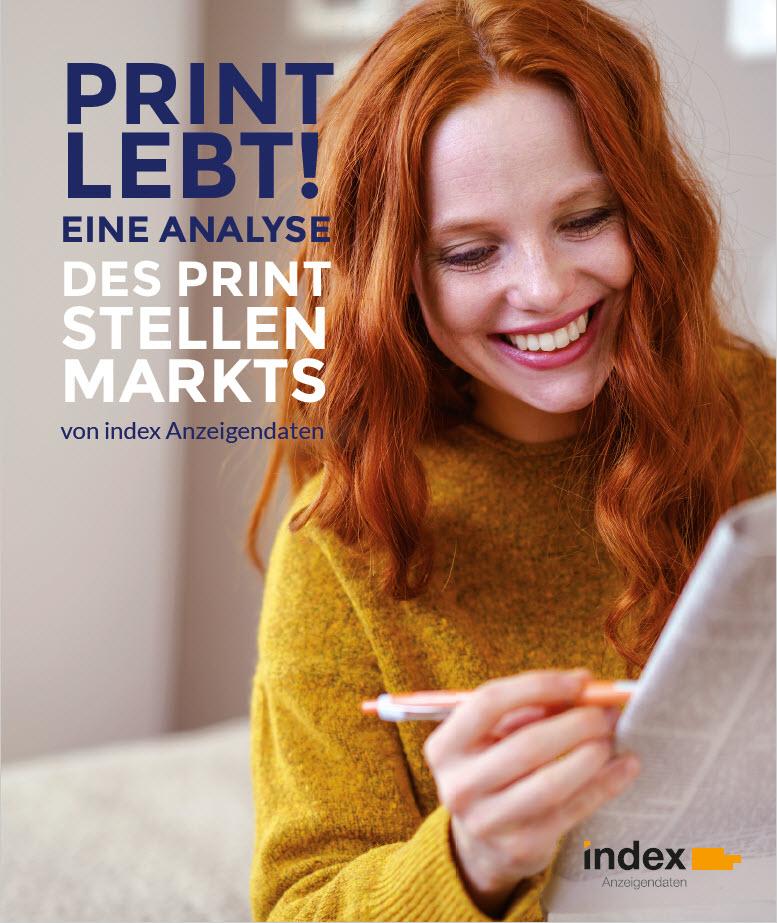 index Analyse Print-Stellenmarkt 2018